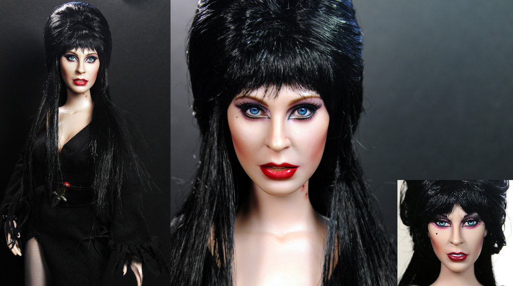 10-Cassandra-Peterson-Elvira-Noel-Cruz-Hyper-Realistic-Make-up-on-small-Dolls-www-designstack-co