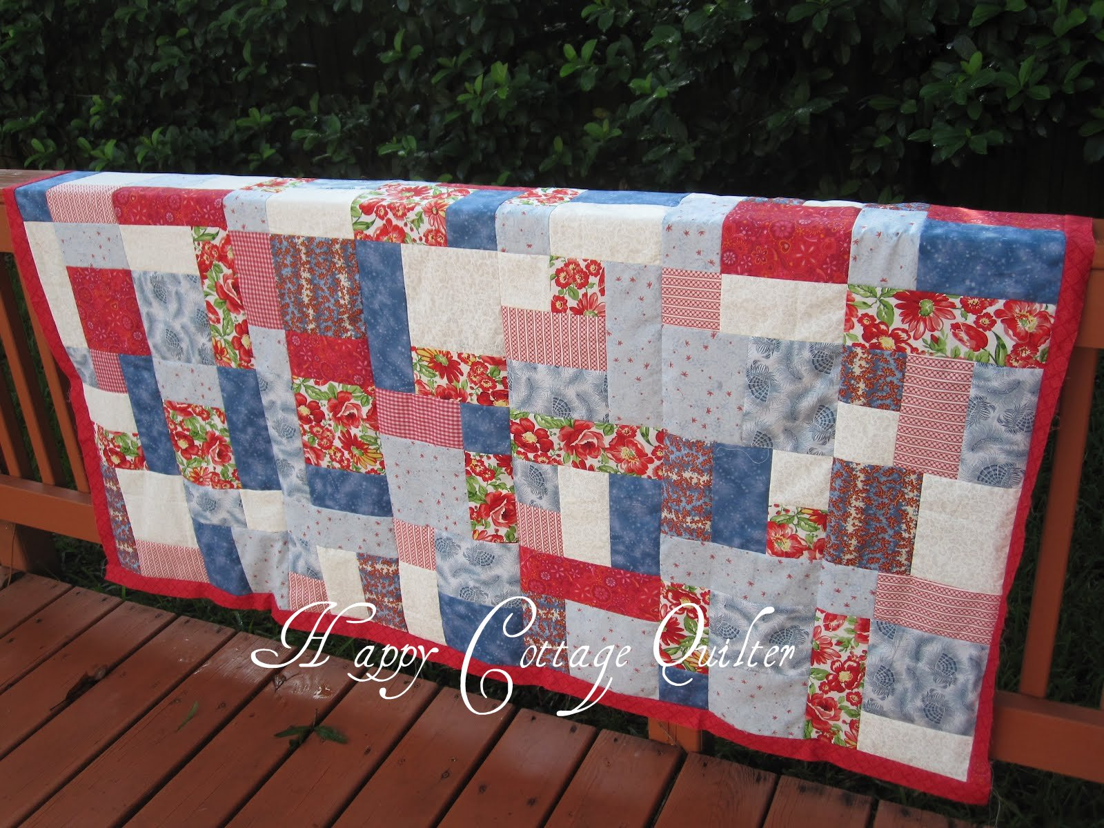 Happy Cottage Quilter Yellow Brick Road Quilt