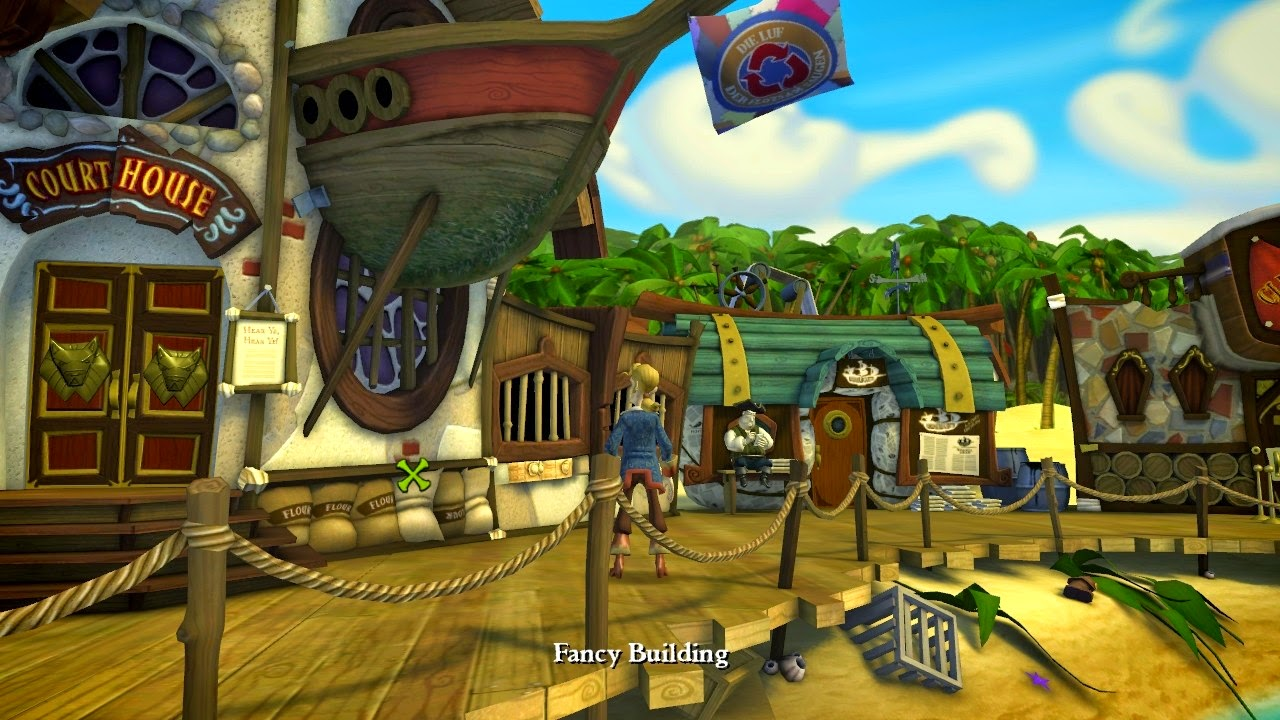 play monkey island online
