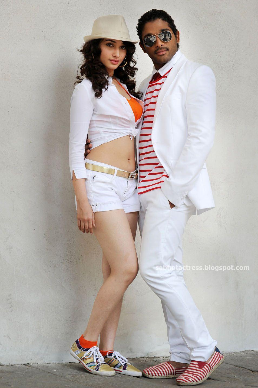 Tamanna hot stills in Badrinath with Allu Arjun