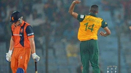 South Africa vs Netherlands t20 world cup Scorecard, Ned vs SA result,