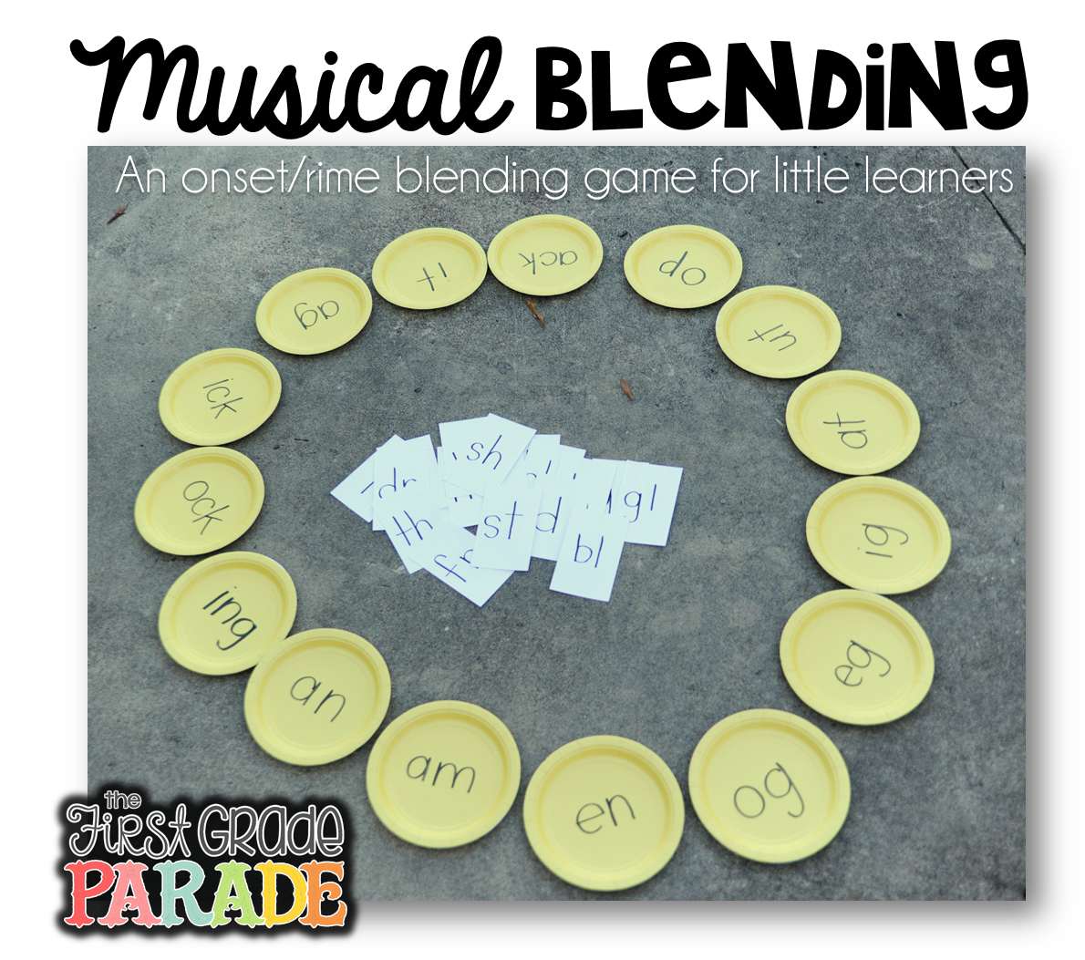 The First Grade Parade: Musical Matching - A Blending Game