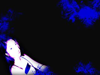 blue backgroud sarah