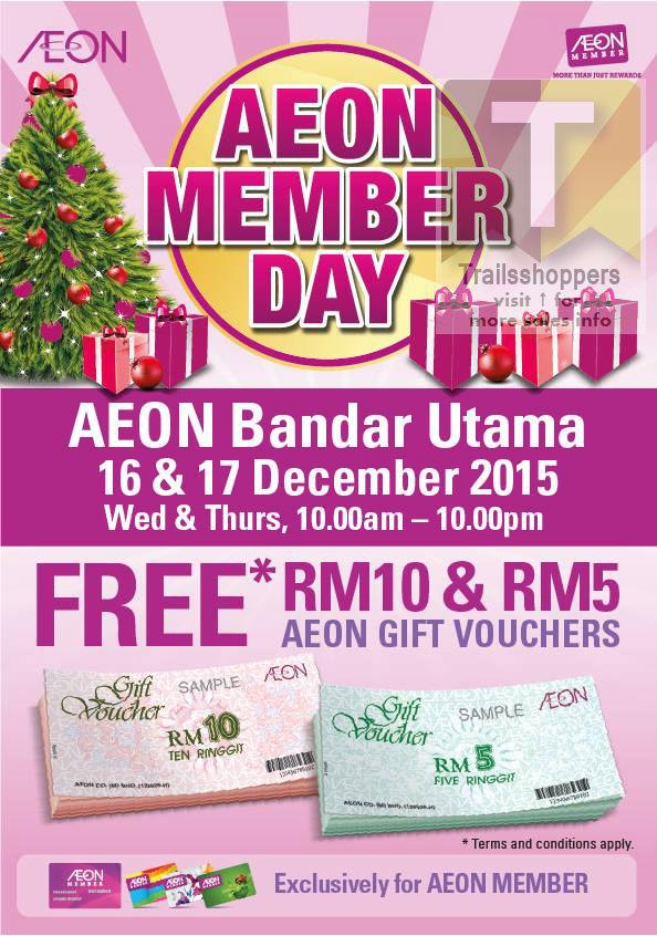 AEON Member Day Bandar Utama 2015