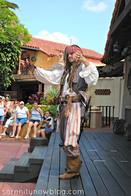 Magic Kingdom, Jack Sparrow, Serenity Now blog