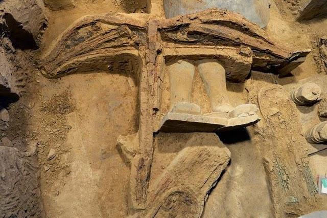 Penemuan Panah berumur 2 200 tahun Milik Kaisar China