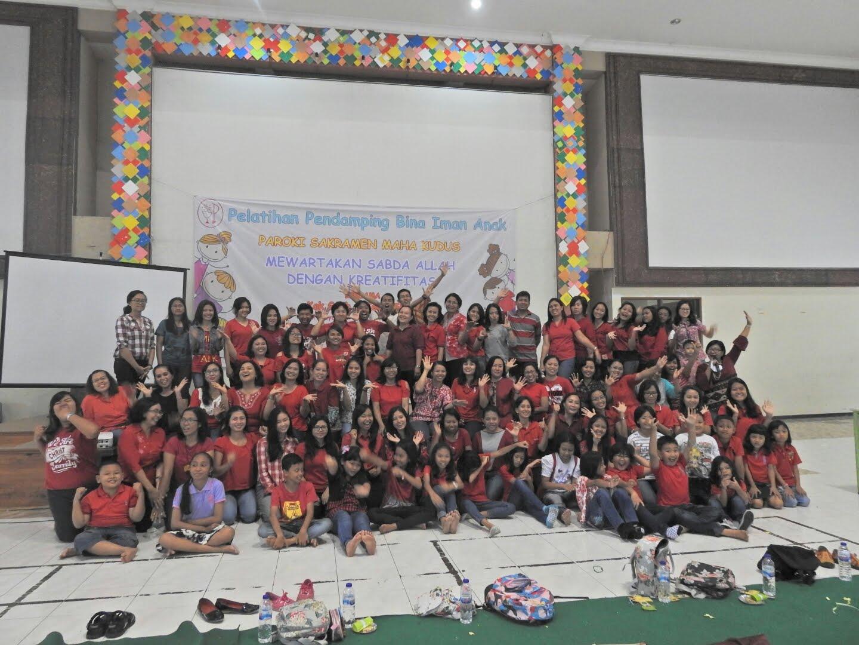 Bersama Pendamping BIAK paroki Sakramen Mahakudus Surabaya 12-13 November 2016