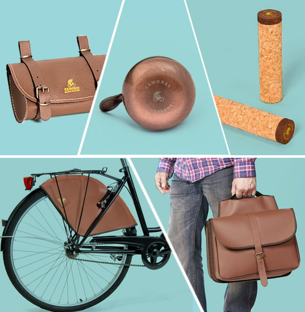 Accesorios retro para bicicletas urbanas: Ramonas Classic Collection
