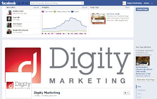 Digity Marketing facebook page
