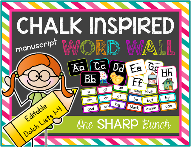 https://www.teacherspayteachers.com/Product/Chalk-Inspired-Editable-Word-Wall-Manuscript-786960
