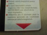 cartela metrou Bucuresti