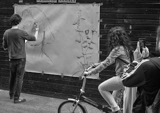 """Mural"", ""Mural por Manuela"", ""Madrid por Manuela"", ""Manuela Carmena"",""arte"",""directo"", ""street art"", ""arte urbano"", ""Ahora Madrid"",""Madrid"", ""Calle"",""ayuntamiento"""