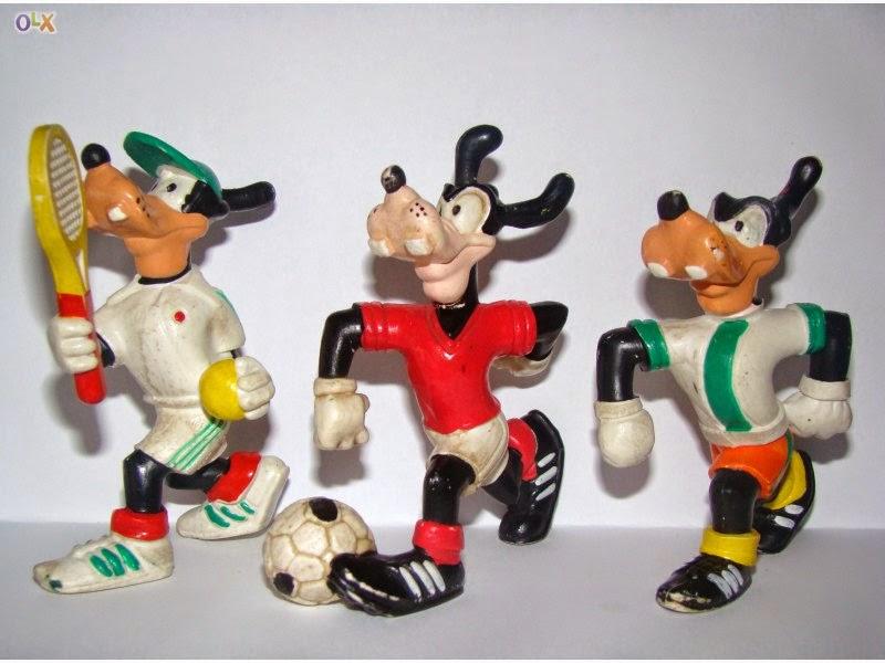 ... dos bonecos de PVC da Maia e Borges