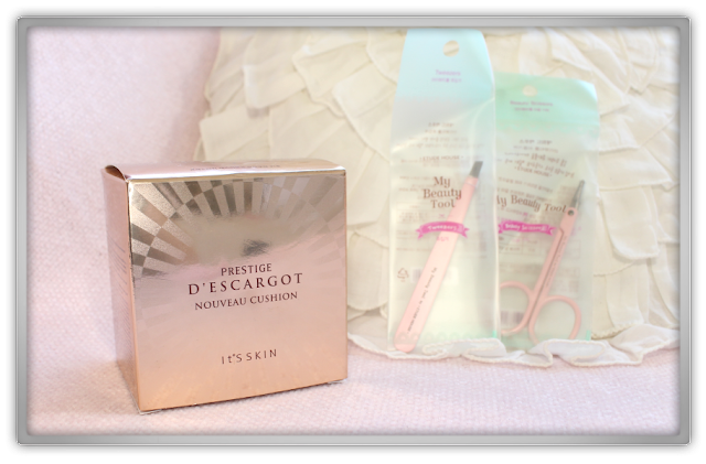 Jolse order Etude house it's skin Haul Review beauty blogger makeup Prestige D'escargot Nouveau Cushion