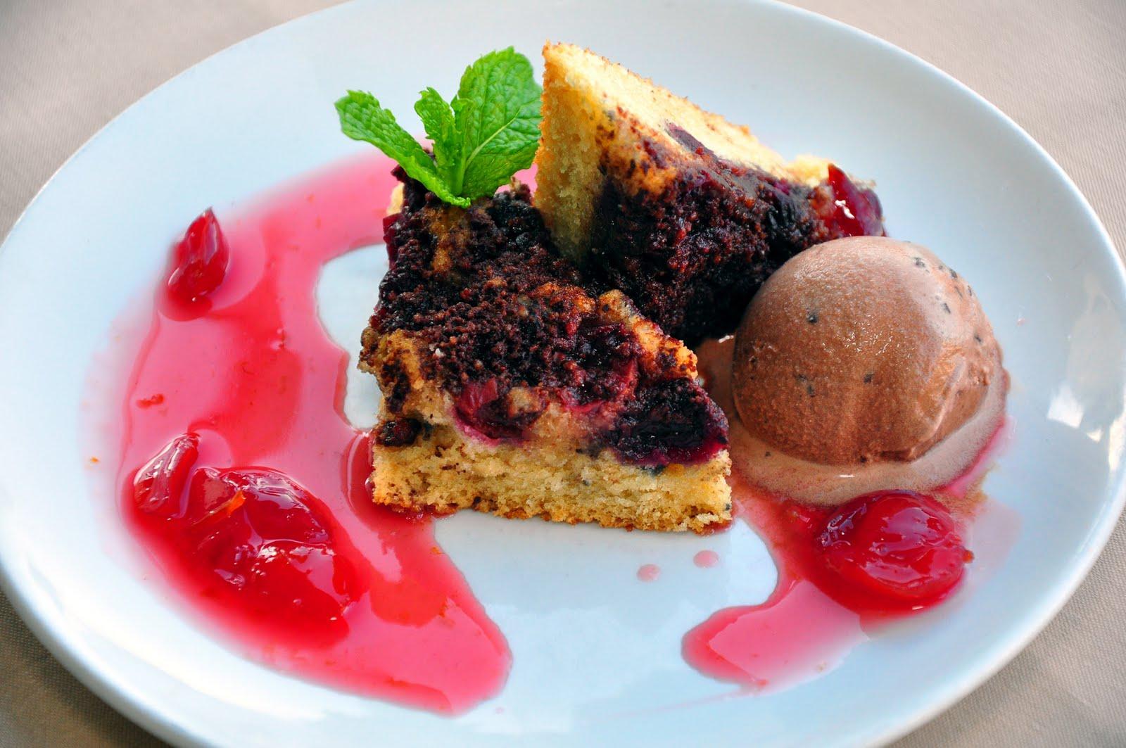 Cherry And Coconut Coffee Cake Recipes — Dishmaps