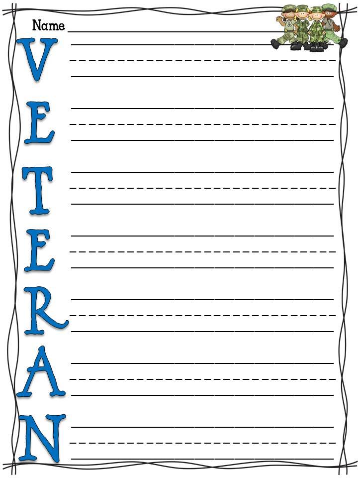 Veteran essay