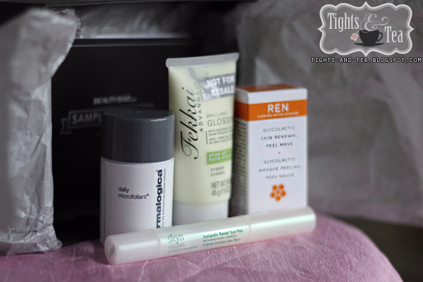 BeautyBox Sample Society First Box March 2012