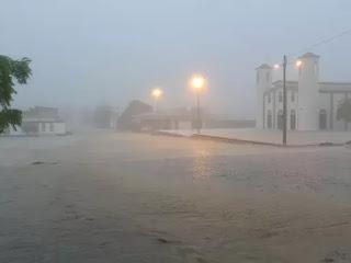 Foi água! Chuva chegou a 132 mm em Caicó