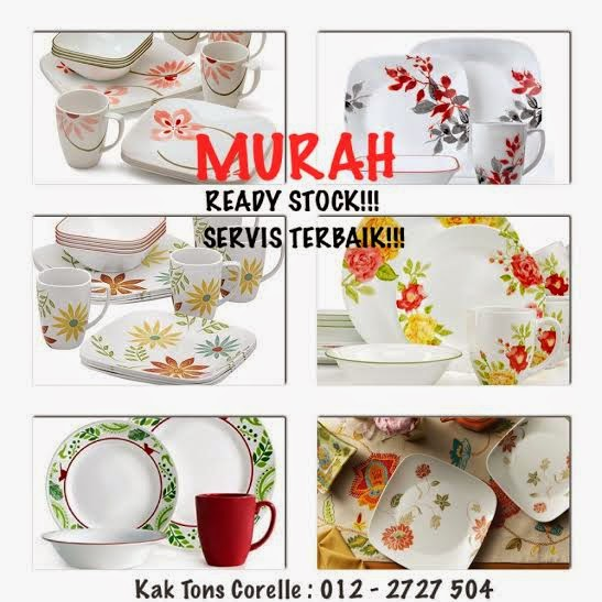 CORELLE TERMURAH. READY STOCK. TOP SELLER 2013-2014!!