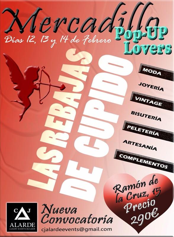 ¡¡ Convocatoria Abierta!! POP UP LOVERS