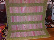 Pink Lemonade Quilt for MOM