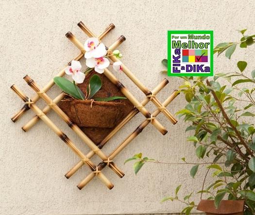 artesanato de bambu para jardim:de 150g de fibra de coco reciclado do projeto coco verde 1 litro de