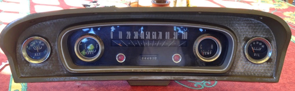 ole blue what to do about the instrument cluster original instrument cluster from old blue