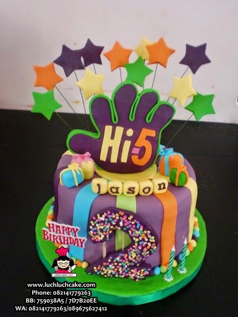 Kue Tart Hi-5 Fondant Daerah Surabaya - Sidoarjo