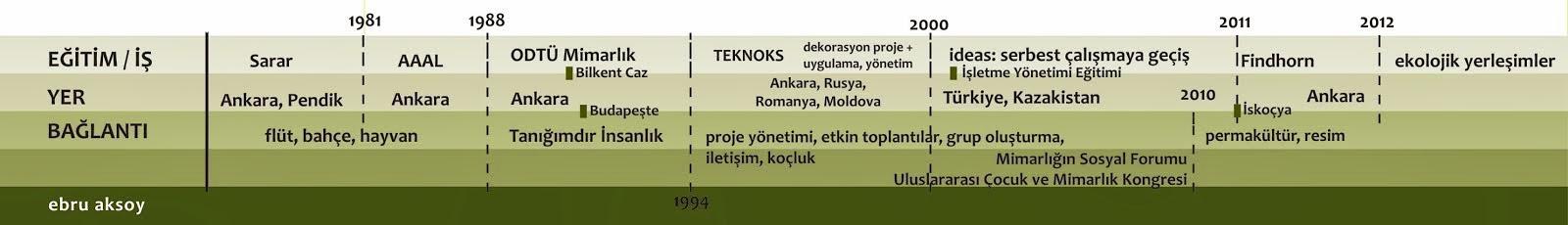Ebru Aksoy timeline