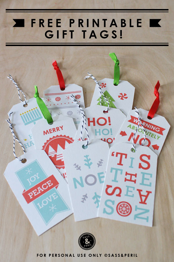 Impeccable image for printable christmas tags