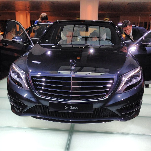 new 2014 Mercedes-Benz S-Class World Premiere in Hamburg