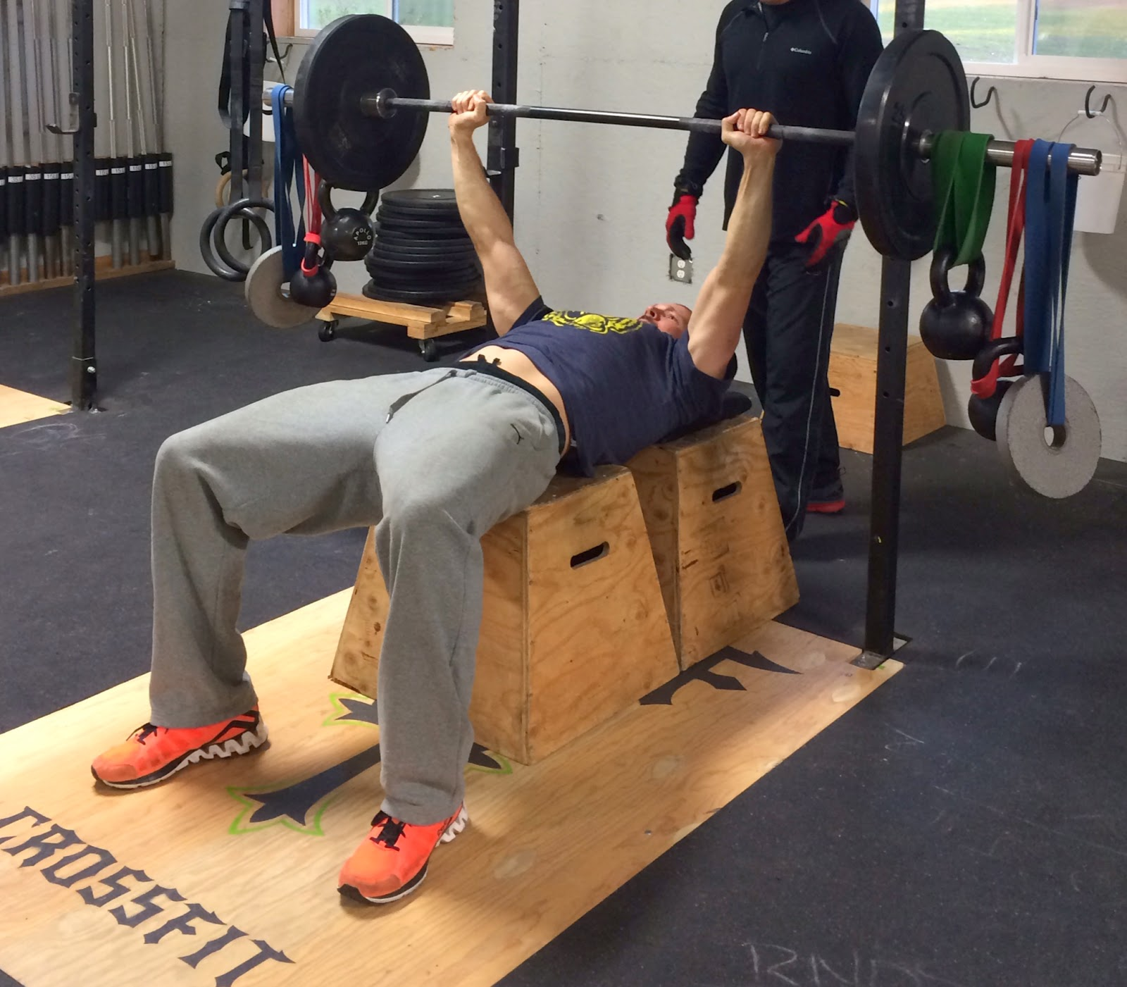 Bench Press Person: BCF CrossFit: Thursday March 20, 2014