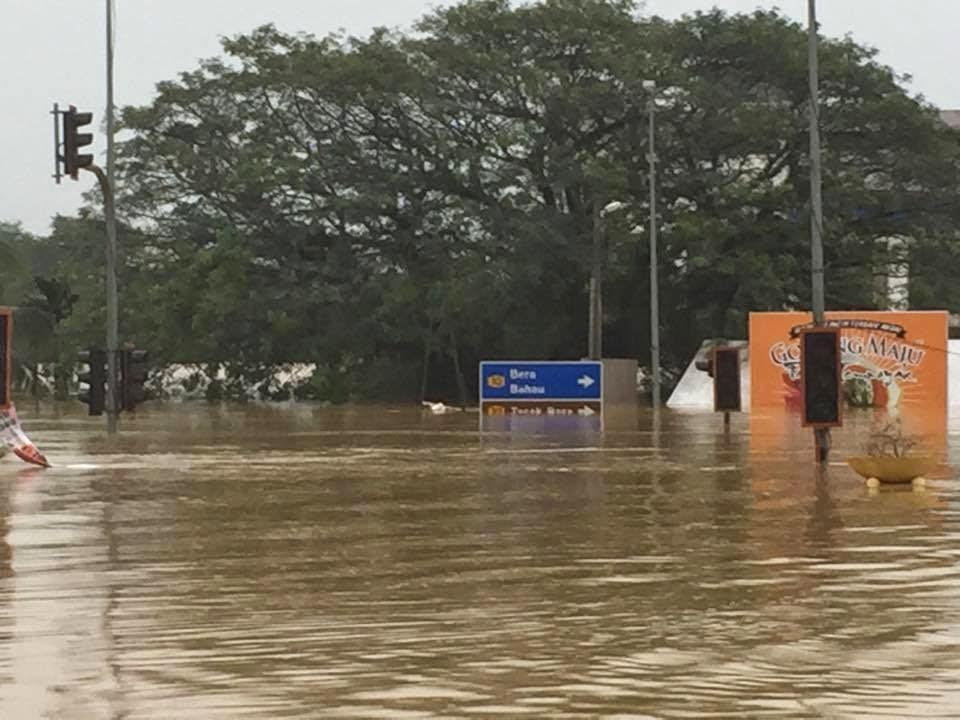 Gambar Banjir Teruk Di Temerloh Pahang
