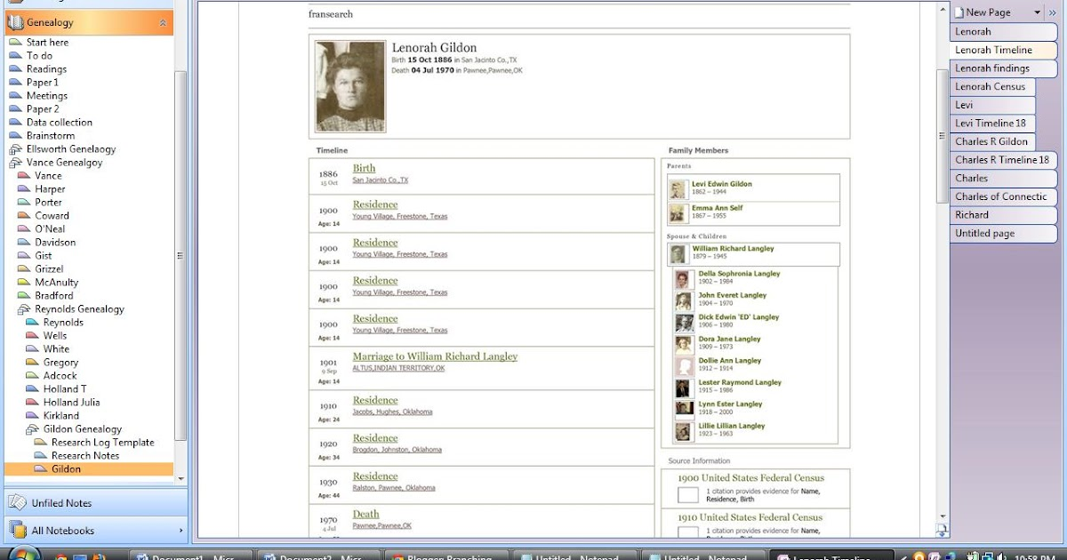 branching out through the years  organizing my genealogy files