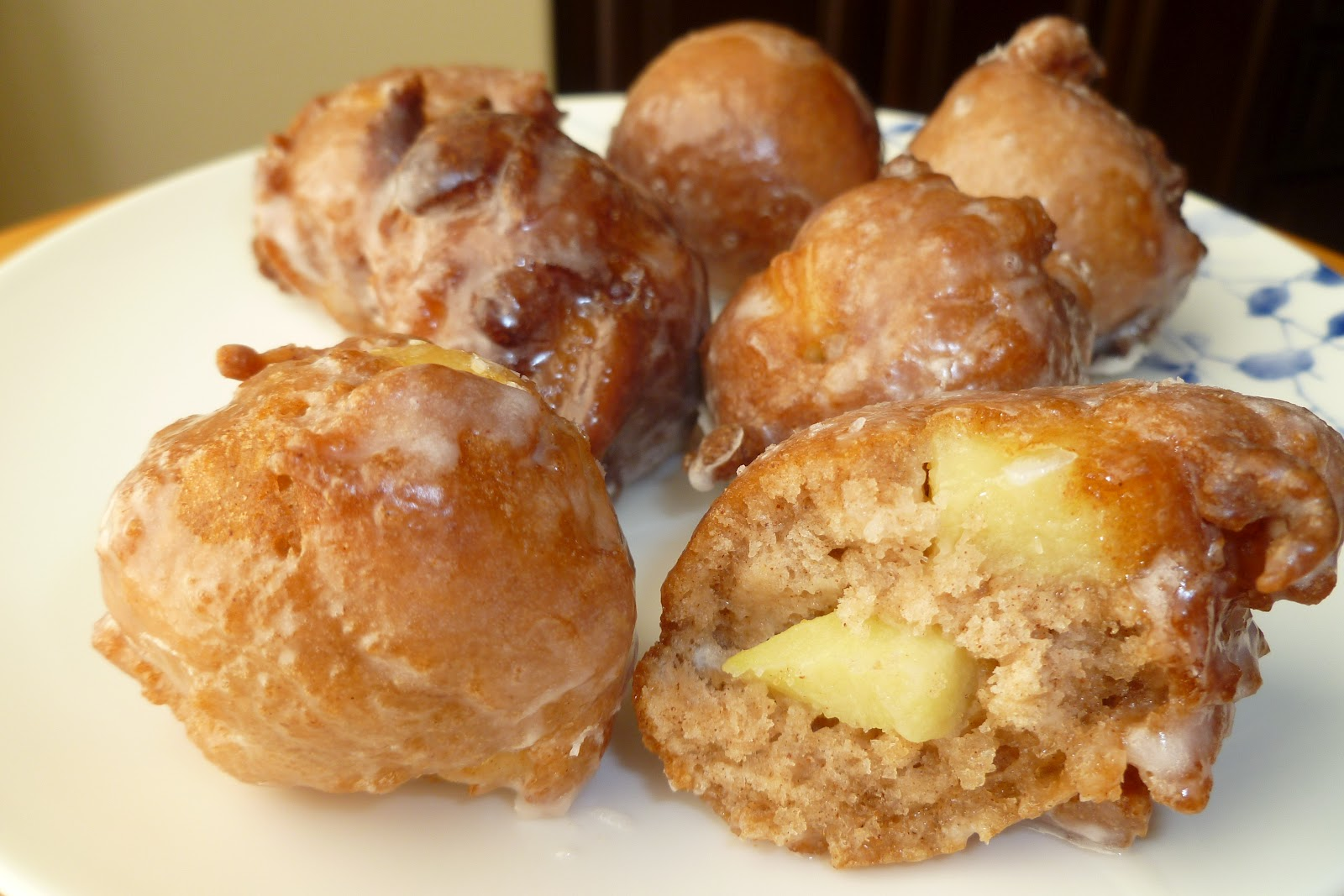 Apple Fritters - made September 22, 2012 from Seemingly Greek