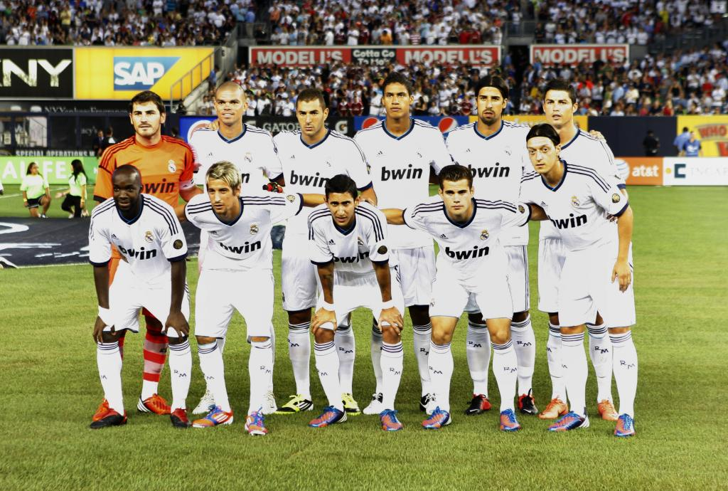 REAL MADRID CF SEASON 2012   2013