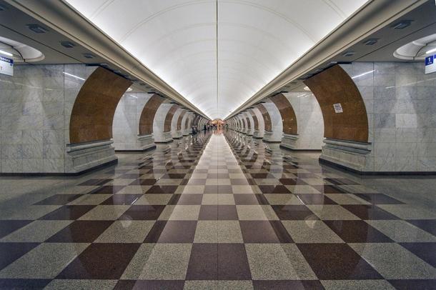estações de metropolitano de Moscovo - Estação de Metro Victory Park