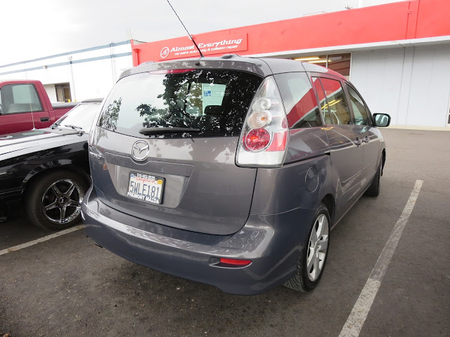 Mazda 5 Bumper Repair at Almost Everything Auto Body