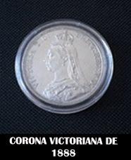 """Moneda o """"corona"""" victoriana"""
