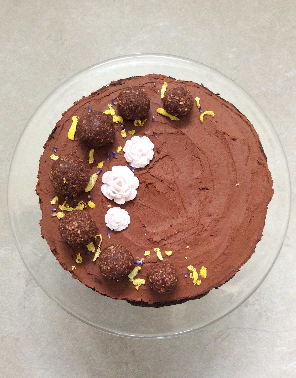 Another Birthday Cake And Simple Chocolate Frosting