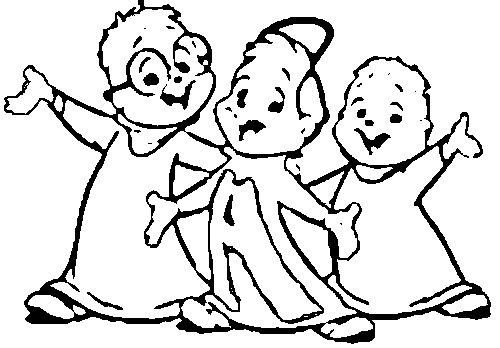 Alvin And The Chipmunks Chipwrecked Printable Coloring Pages