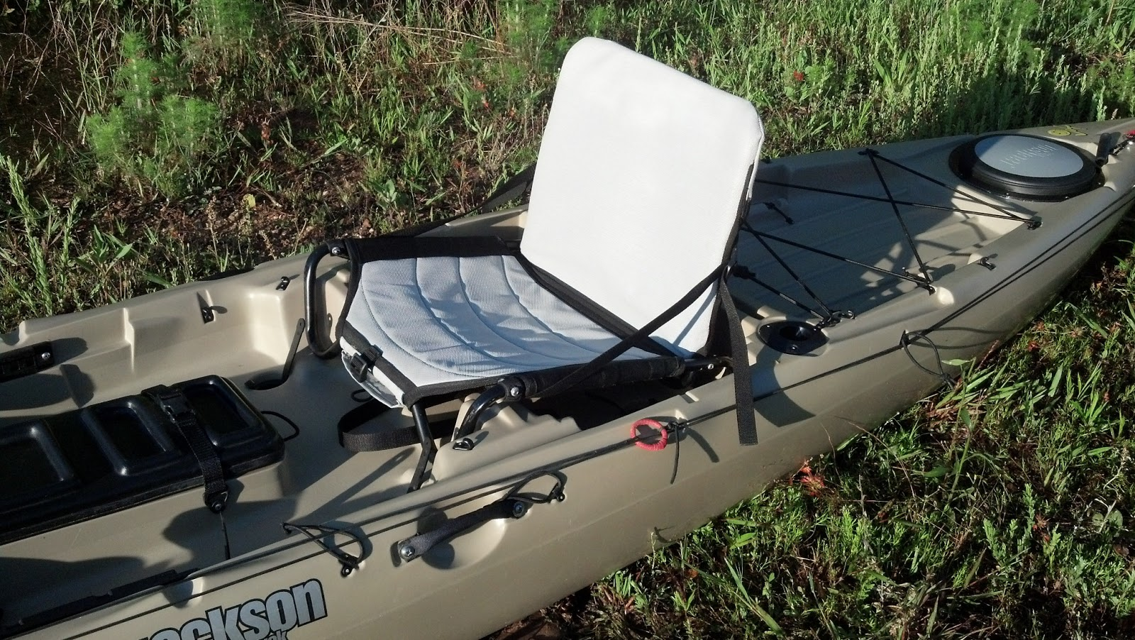 Georgia kayak fishing jackson cuda 14 review for Kayak fishing seats