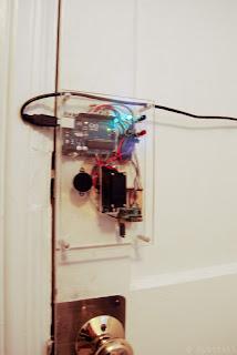 tranca com Arduino