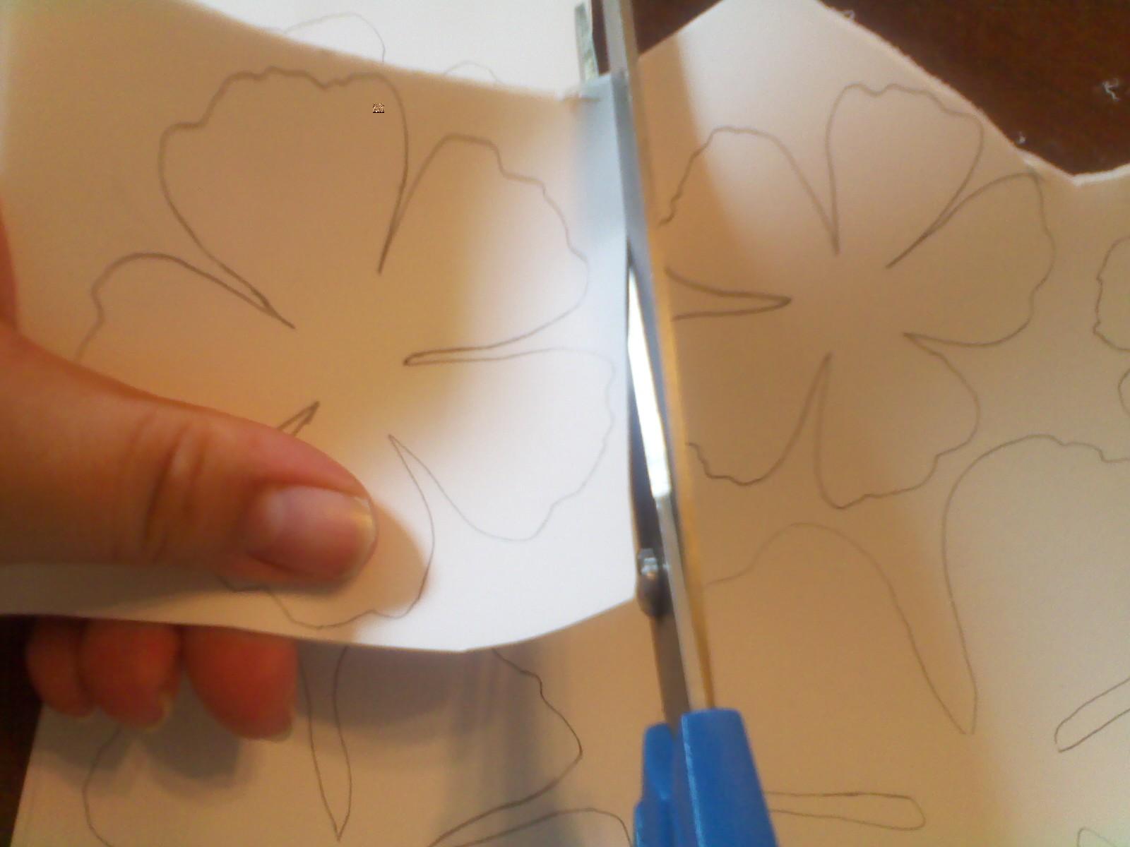 paper rose tutorial
