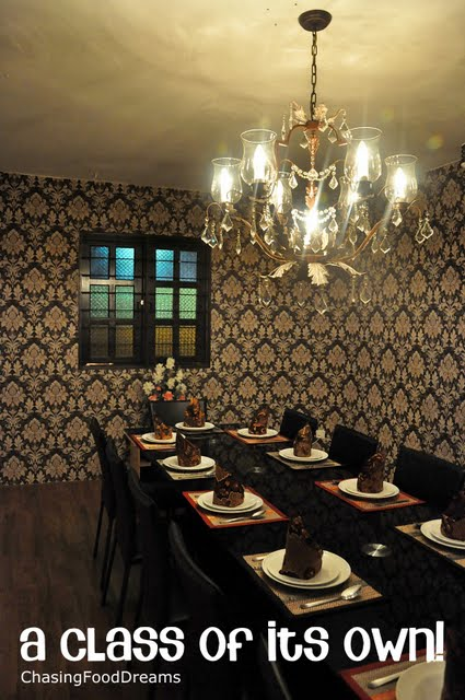 The Restaurant Has One Gorgeous Private Dining Room To Accommodate Up 12 Persons Comfortably