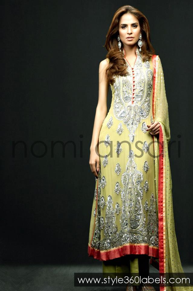 Stylish Bridesmaid Dresses besides Nomi Ansari Latest Dresses additionally Nomi Ansari Bridal Collection 2015 further Pakistani Kids Eid Dresses For Girls as well Sindhi Embroidery Designs. on nomi ansari bridal wear collection 2013 html