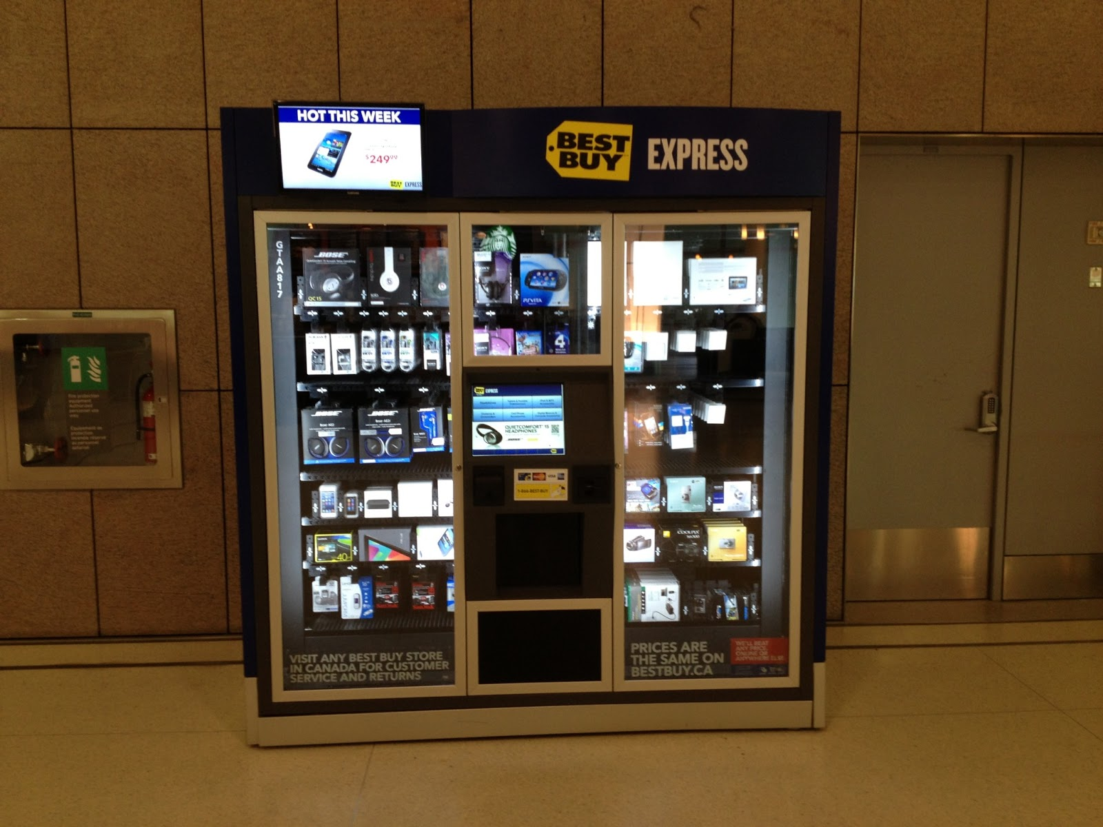 Interesting Places and Events: Best Buy Express Vending ...
