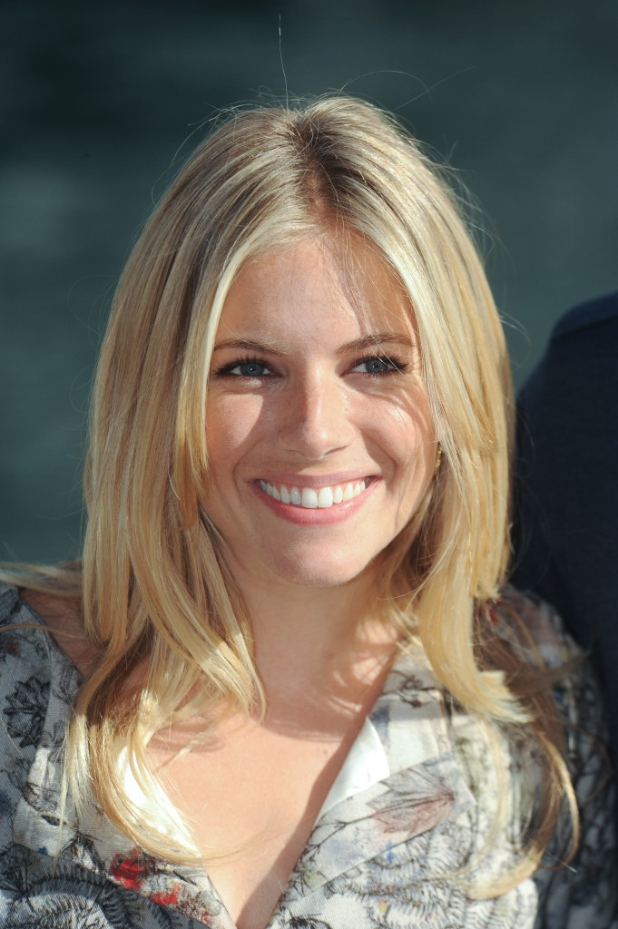 Sienna Miller Short Hair 2013