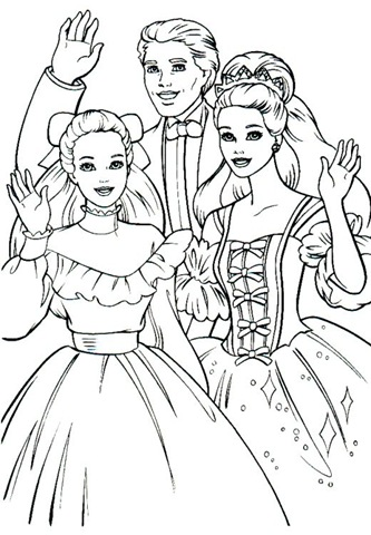 barbie and ken coloring pages auromas