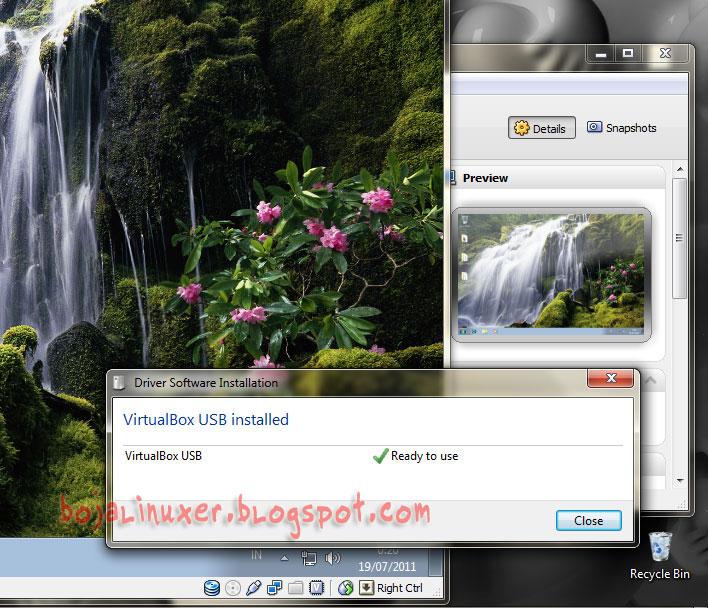 Cara Menggunakan Usb Flashdisk Pada Virtualbox Bojalinuxer Blog